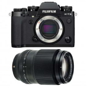 Fujifilm X-T3 Negro + Fujifilm XF 90mm F2 R LM WR