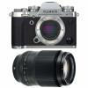 Fujifilm X-T3 Plata + Fujifilm XF 90mm F2 R LM WR Negro