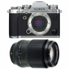 Fujifilm X-T3 Silver + Fujifilm XF 90mm F2 R LM WR Noir | Garantie 2 ans