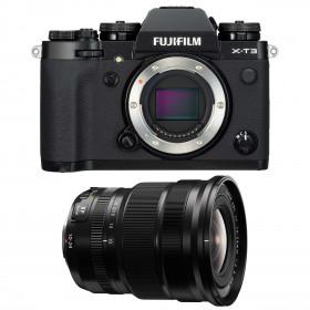 Fujifilm X-T3 Black + Fujinon XF 10-24mm F4 R OIS | 2 Years Warranty
