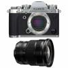 Fujifilm X-T3 Silver + Fujinon XF 10-24mm F4 R OIS Black | 2 Years Warranty