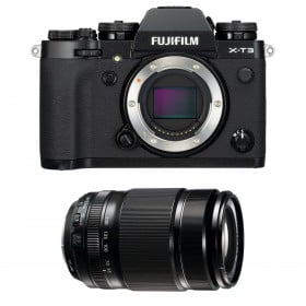 Fujifilm X-T3 Noir + Fujinon XF 55-200mm F3.5-4.8 R LM OIS