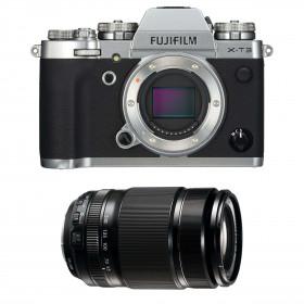 Fujifilm X-T3 Silver + Fujinon XF 55-200mm F3.5-4.8 R LM OIS Noir