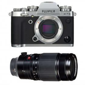 Fujifilm X-T3 Silver + Fujinon XF 50-140mm F2.8 R LM OIS WR Noir
