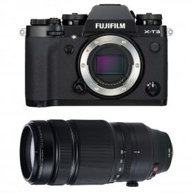 Fujifilm X-T3 Noir + Fujinon XF 100-400mm F4.5-5.6 R LM OIS WR