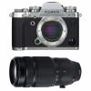 Fujifilm X-T3 Silver + Fujinon XF 100-400mm F4.5-5.6 R LM OIS WR Noir | Garantie 2 ans