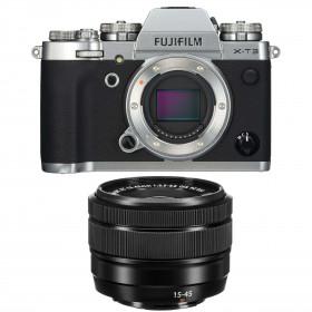 Fujifilm X-T3 Silver + Fujinon XC 15-45mm F3.5-5.6 OIS PZ Noir