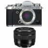 Fujifilm X-T3 Silver + Fujinon XC 15-45mm F3.5-5.6 OIS PZ Noir | Garantie 2 ans