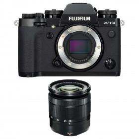 Fujifilm X-T3 Black + Fujinon XC 16-50mm F3.5-5.6 OIS II | 2 Years Warranty