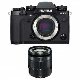 Fujifilm X-T3 Noir + Fujinon XC 16-50mm F3.5-5.6 OIS II