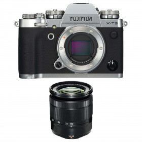 Fujifilm X-T3 Silver + Fujinon XC 16-50mm F3.5-5.6 OIS II Noir