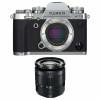 Fujifilm X-T3 Silver + Fujinon XC 16-50mm F3.5-5.6 OIS II Noir   Garantie 2 ans
