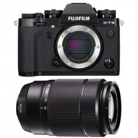 Fujifilm X-T3 Black + Fujinon XC50-230mm F4.5-6.7 OIS II | 2 Years Warranty