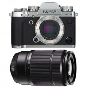 Fujifilm X-T3 Plata + Fujinon XC50-230mm F4.5-6.7 OIS II Negro
