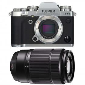 Fujifilm X-T3 Silver + Fujinon XC50-230mm F4.5-6.7 OIS II Black | 2 Years Warranty