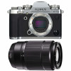 Fujifilm X-T3 Silver + Fujinon XC50-230mm F4.5-6.7 OIS II Noir | Garantie 2 ans