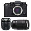 Fujifilm X-T3 Noir + Fujinon XC 16-50mm F3.5-5.6 OIS II + Fujinon XC50-230mm F4.5-6.7 OIS II | Garantie 2 ans