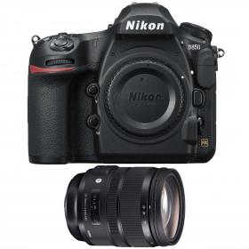 Nikon D850 Cuerpo + Sigma 24-70mm F2.8 DG OS HSM Art | 2 años de garantía