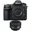 Nikon D850 Cuerpo + AF-S Nikkor 58mm f/1.4G | 2 años de garantía