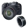 Canon EOS RP + RF 24-105mm f/4L IS USM + EF-EOS R | Garantie 2 ans