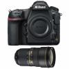 Nikon D850 body + AF-S Nikkor 24-70mm f/2.8E ED VR | 2 Years Warranty