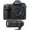 Nikon D850 Nu + AF-S Nikkor 70-200mm f/2.8E FL ED VR | Garantie 2 ans
