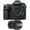 Nikon D850 Nu + Sigma 12-24mm F4 DG HSM Art | Garantie 2 ans