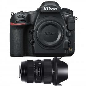 Nikon D850 body + Sigma 24-35mm f/2 DG HSM Art | 2 Years Warranty