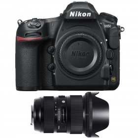 Nikon D850 Cuerpo + Sigma 24-35mm f/2 DG HSM Art | 2 años de garantía