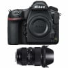 Nikon D850 body + Sigma 24-35mm f/2 DG HSM Art | 2 Years Warranty