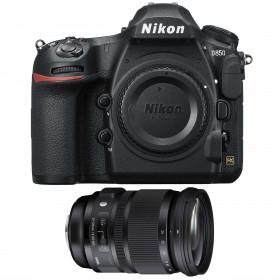 Nikon D850 Cuerpo + Sigma 24-105mm f/4 DG OS HSM Art | 2 años de garantía