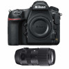 Nikon D850 Nu  + Sigma 100-400mm F5-6.3 DG OS HSM Contemporary   Garantie 2 ans