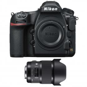 Nikon D850 Cuerpo + Sigma 20mm F1.4 DG HSM Art | 2 años de garantía