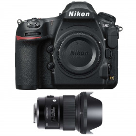 Nikon D850 body + Sigma 24mm F1.4 DG HSM Art | 2 Years Warranty