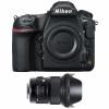 Nikon D850 Nu + Sigma 24mm F1.4 DG HSM Art | Garantie 2 ans