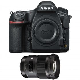 Nikon D850 body + Sigma 50mm F1.4 DG HSM Art | 2 Years Warranty