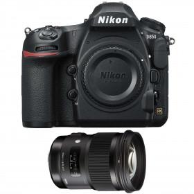 Nikon D850 Cuerpo + Sigma 50mm F1.4 DG HSM Art | 2 años de garantía