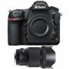 Nikon D850 body + Sigma 85mm F1.4 DG HSM Art   2 Years Warranty