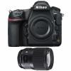 Nikon D850 Cuerpo  + Sigma 135mm F1.8 DG HSM Art   2 años de garantía