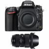Nikon D750 Cuerpo + Sigma 24-35mm f/2 DG HSM Art   2 años de garantía