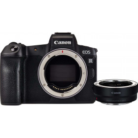 Cámara mirrorless Canon R Cuerpo + Canon EF R