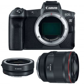 Canon EOS R + RF 50mm f/1.2L USM + Canon EF EOS R | 2 Years Warranty