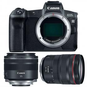 Canon EOS R + RF 24-105 mm f/4L IS USM + RF 35mm f/1.8 Macro IS STM | 2 Years Warranty