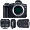 Canon EOS R + RF 24-105 mm f/4L IS USM + RF 35mm f/1.8 Macro IS STM + Canon EF EOS R | 2 Years Warranty