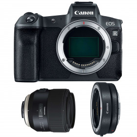 Canon EOS R + Tamron SP 85mm F/1.8 Di VC USD + Canon EF EOS R | 2 Years Warranty