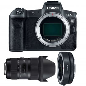 Canon EOS R + Sigma 18-35mm F1.8 DC HSM Art + Canon EF EOS R | 2 Years Warranty