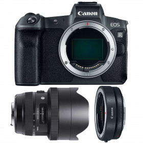 Canon EOS R + Sigma 12-24mm F4 DG HSM Art + Canon EF EOS R | 2 Years Warranty