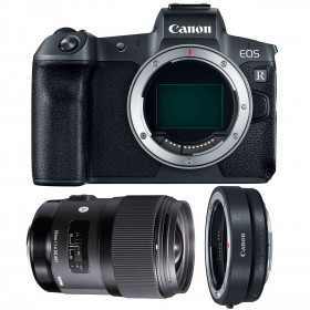 Canon EOS R + Sigma 35mm F1.4 DG HSM Art + Canon EF EOS R