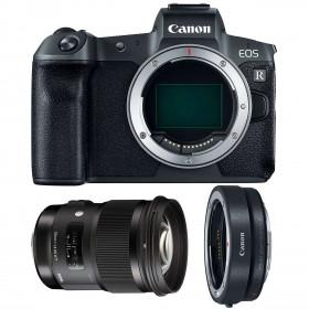 Canon EOS R + Sigma 50mm F1.4 DG HSM Art + Canon EF EOS R