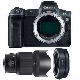 Canon EOS R + Sigma 85mm F1.4 DG HSM Art + Canon EF EOS R | 2 Years Warranty
